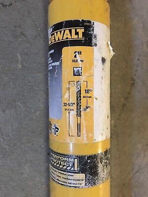 Dewalt 2x 18 X 22-12 Carbide Tip Rotary Hammer Drill Bit