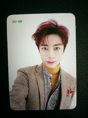 Monsta X The Connect Photocard Hyungwon