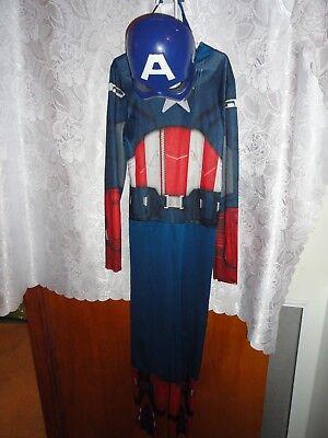 CAPTAIN AMERICA HALLOWEEN COSTUME-SIZE 8/10 - Captain America Halloween Costume For Girls