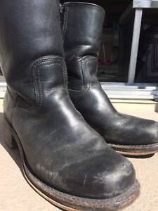 Frye boots, black leather