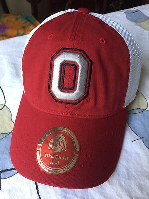 Ohio State Buckeyes J America NCAA Defender Mesh Hat Cap University Columbus -