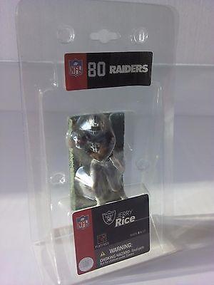 "Jerry Rice Oakland Raiders McFarlane 3"" Mini Figure NIP 2004 NFL AFC West"