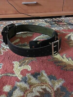 Safariland Police Security Duty Belt 32 Black Mdl87 With Buckle