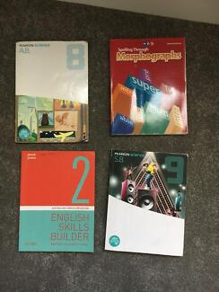 Textbooks years 8-11