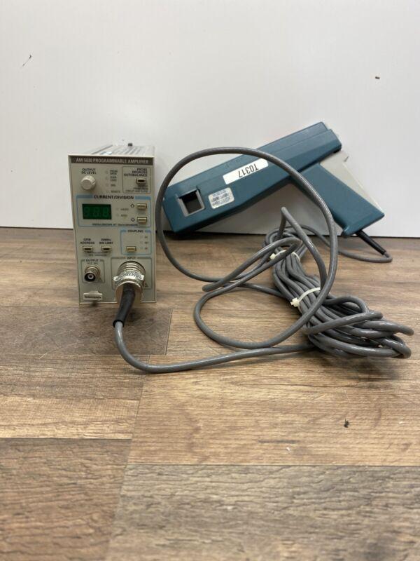 Tektronix AM 5030 Current Probe Amplifier + A6304XL