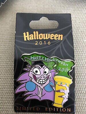 Disney Channel Happy Halloween (YZMA Emperor's New Groove 2016 Happy Halloween WDW Disney Parks Pin LE)