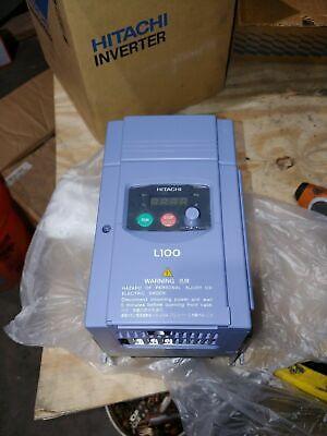 New Hitachi Inverter L100-022hfu 3hp Variable Frequency Drive Vfd
