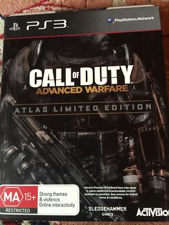 Like new Call of Duty Advanced warfare Atlas Edition  Enfield Port Adelaide Area Preview