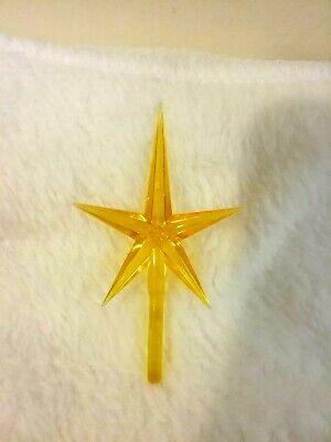 MEDIUM MODERN GOLD STAR FOR CERAMIC CHRISTMAS TREES ()