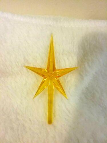 MEDIUM MODERN GOLD STAR FOR CERAMIC CHRISTMAS TREES