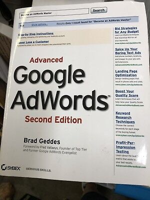 Google Ad Words Book Advertising Promotion Yahoo Search Bing