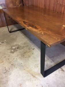 Rustic handcrafted coffee table $175firm