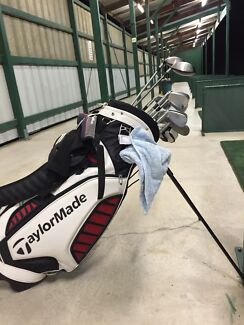 Taylormade Complete Set of Clubs & TMX Bag - 14 Cubs Ringwood North Maroondah Area Preview