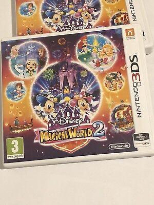 Disney Magical World 2 - NINTENDO 3DS UK GAME VGC *FREE UK POST* segunda mano  Embacar hacia Spain