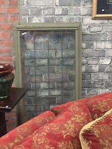 Vintage leaded glass windows