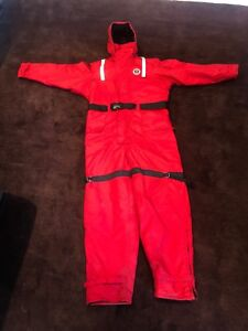 Mustang MS-185 Survival Floatation Suit - Size XL  Ice Fishing