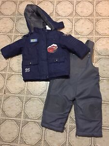 Cars toddler snow suit