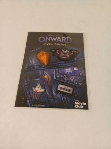 Disney Movie Club Exclusive Onward Movie Cloth Sticker Patches-NEW-S&H w/Trackin