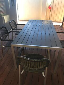 Outdoor table plus chairs