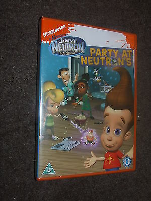 Jimmy Neutron - Party At Neutron's DVD NEW AND SEALED Nickelodeon - Jimmy Neutron Party