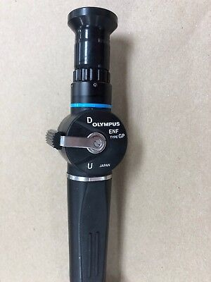 Olympus Enf-gp Fiber Rhinolaryngoscope0 Broken Fiber