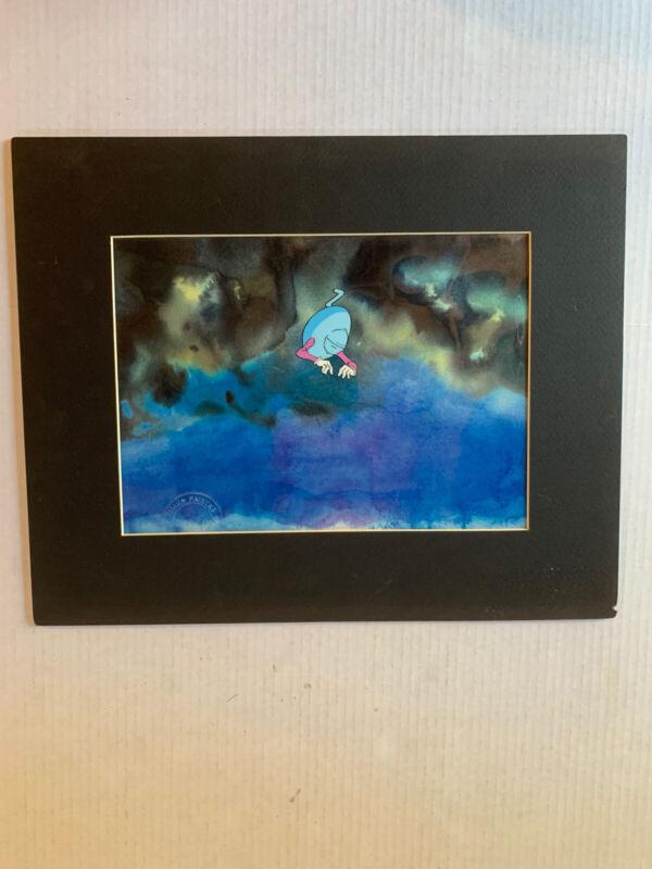 """VINTAGE - Heavy Metal Cel (Framed/Bordered size - 16 x 13"""")"""