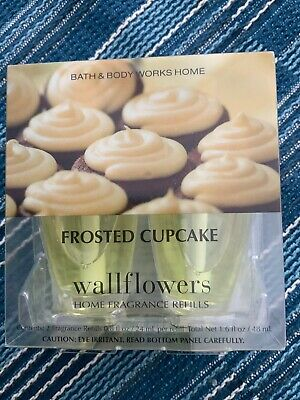 Bath And Body Works Wallflowers Refills 2-Pack Of Frosted Cupcake