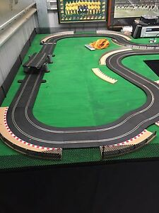 Scalextric full set up Colo Vale Bowral Area Preview
