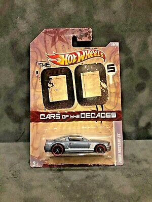 Hot Wheels Cars Of The Decades The 00's Ford Mustang GT (Grey) Brand New!!!