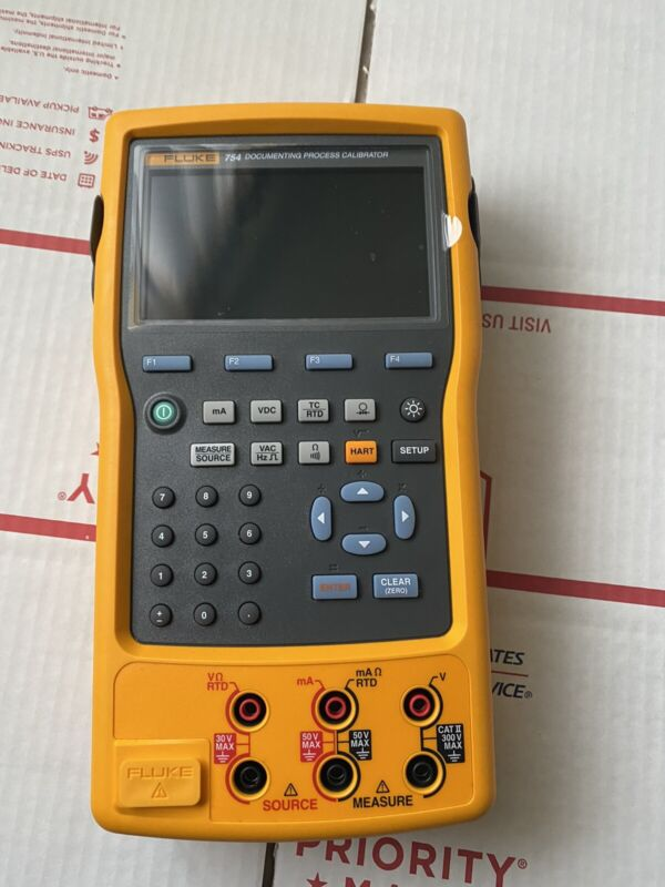 Fluke 754 Documenting Process Calibrator HART Great Condition A+