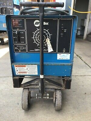 Used Miller Dialarc 250 Acdc On Cart