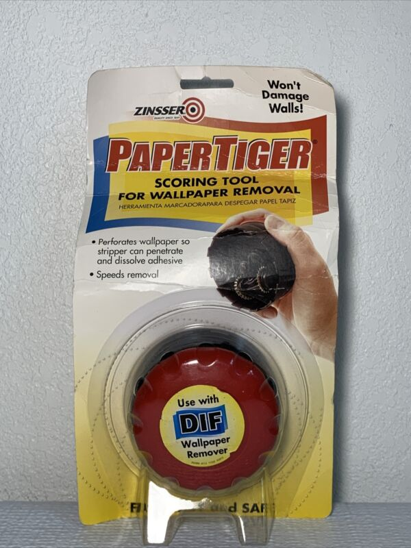 Zinsser #2966 Paper Tiger Scoring Tool For Wallpaper Removal (A3)