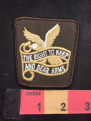 Second Amendment Right To Keep And Bear Arms - Right To Keep And Bear Arms Second Amendment Constitution Patch Gun Rights 89XC
