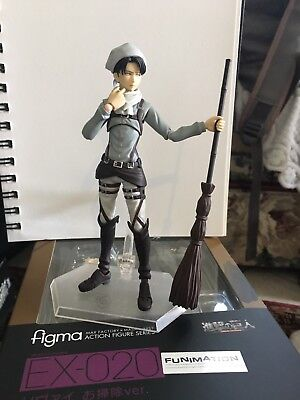 Attack on Titan Levi Cleaning ver. Figma GSC OFFICAL