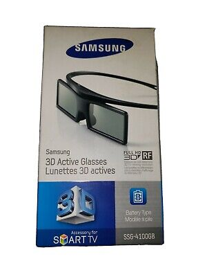 One Pair of Samsung SSG-4100GB Active 3D Glasses For Smart TV New in Box