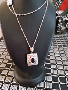 Sterling Silver Stamped Necklace and Pendent Newcastle Newcastle Area Preview
