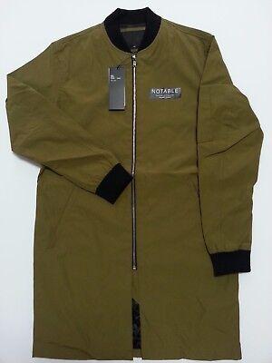 Unisex Bomber/Pilot/Flight Jacket/Military/Smart Casual/Long/Fashion/Slim Fit/M