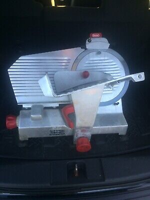 Berkel Electric Meat And Cheese Slicer Model 827a With 12 Inch Blade - Used