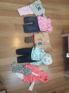 Baby Girl Outfits- size 6 months