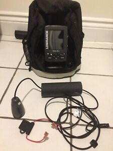 Lowrance Elite 4X Full Package- 3 transducers