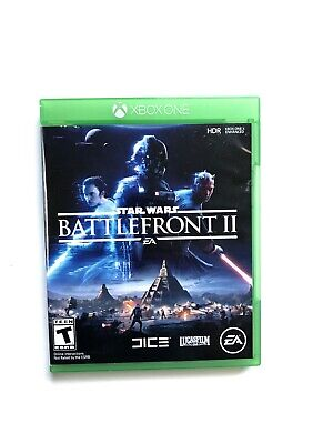 Star Wars: Battlefront 2 (Microsoft Xbox One, 2017) Tested, Works