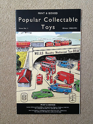 MINT & BOXED Popular Collectable Toys Winter 1990/1991 Catalogue
