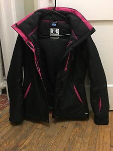 Salomon ski jacket - size M. Perfect conditions.  London Ontario image 2