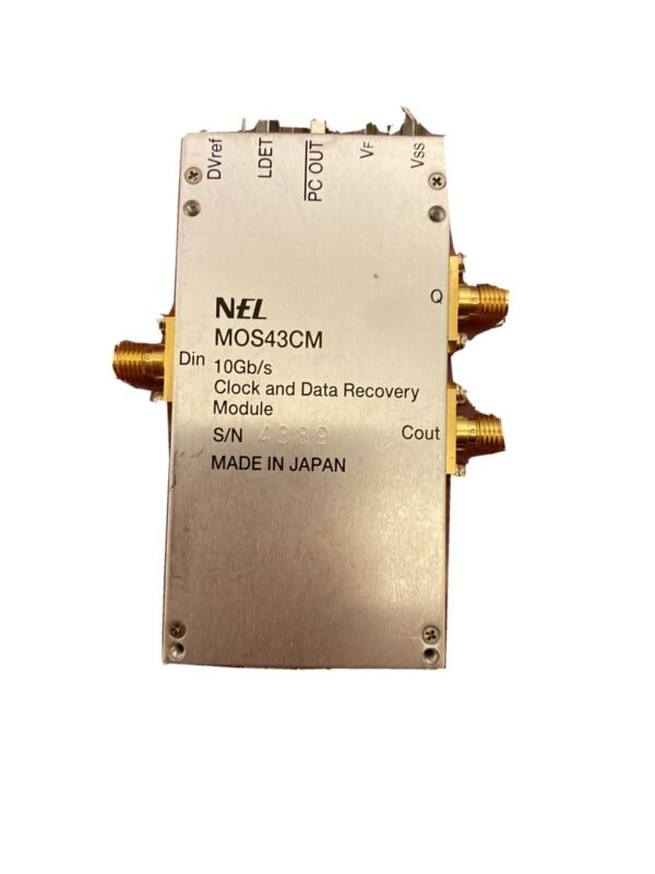 NEL MOS43CM 10Gb/s Clock and Data Recovery Module