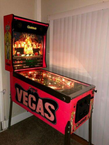 1990 RARE GOTTLIEB -Vegas- Pinball Machine