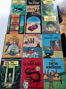 Collection de 23 BD de Tintin