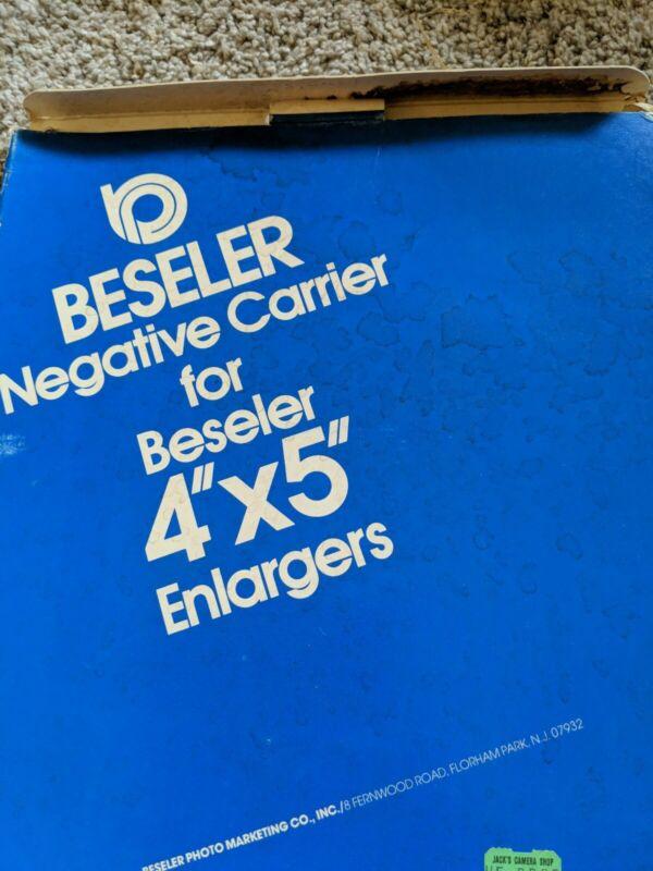 Beseler 8302 Negative Carrier for Beseler 4x5 Enlargers