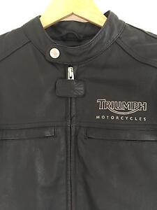 Triumph motorcycle leather Jacket Collaroy Manly Area Preview