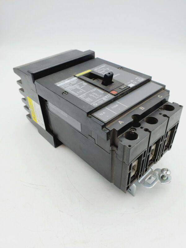 Square D PowerPact Breaker HJA36070 70A