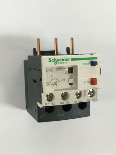 Schneider Electric LRD07 TeSys LRD Thermal Overload Relay Class 10A